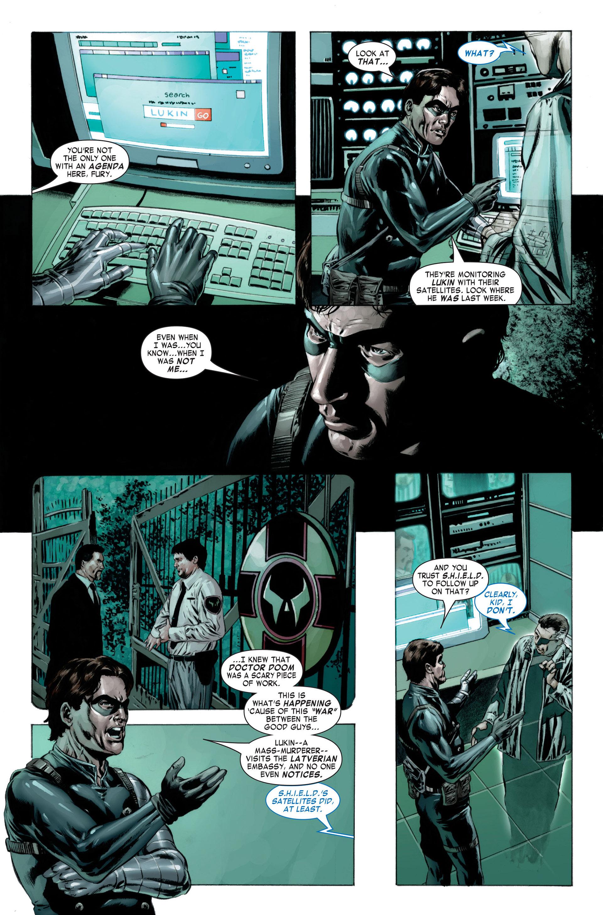 Captain America (2005) Issue #23 #23 - English 13