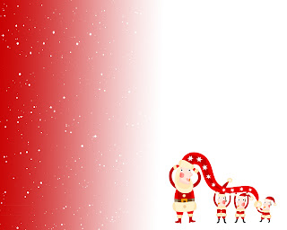 Free Download Christmas Cartoon Santa Wallpaper