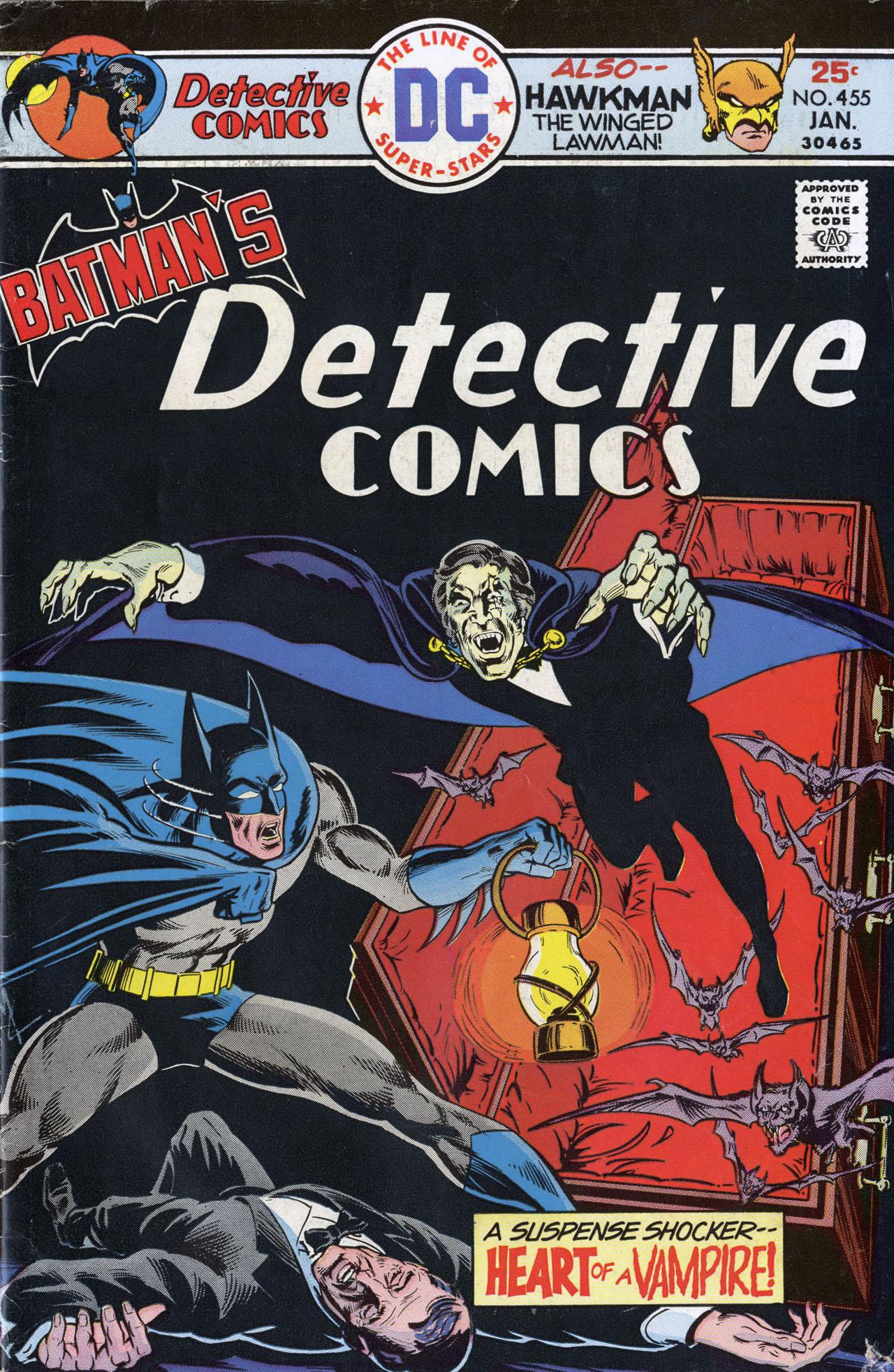 Detective Comics (1937) 455 Page 1
