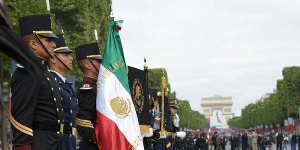 2015 *Visite d'Etat en France : Président du Mexique*
