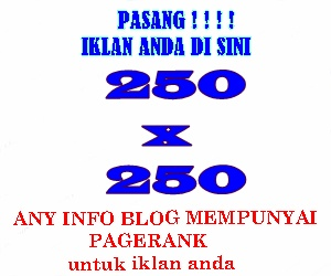 SPACE IKLAN 300x250