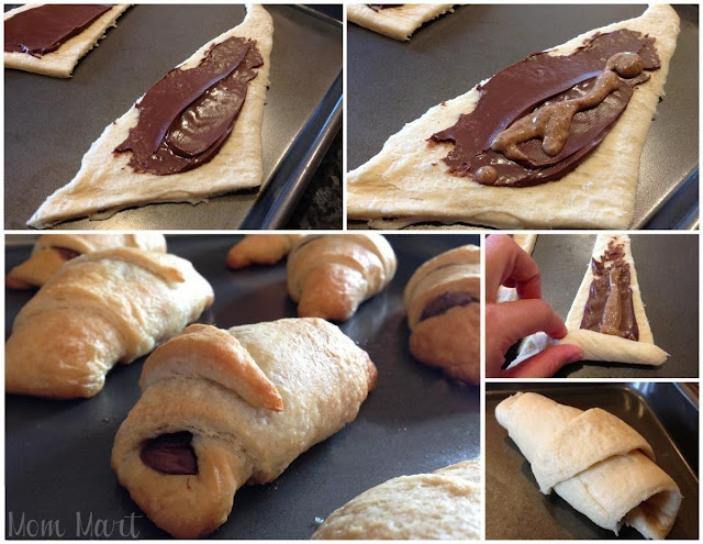 How to make quick and easy Chocolate Almond Butter Croissant Recipe with Picture Tutorial #Foodie #Breakfast #Yummy