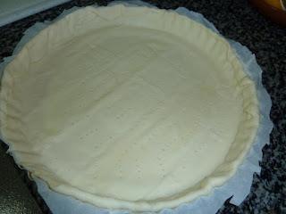 Forrar a tarteira