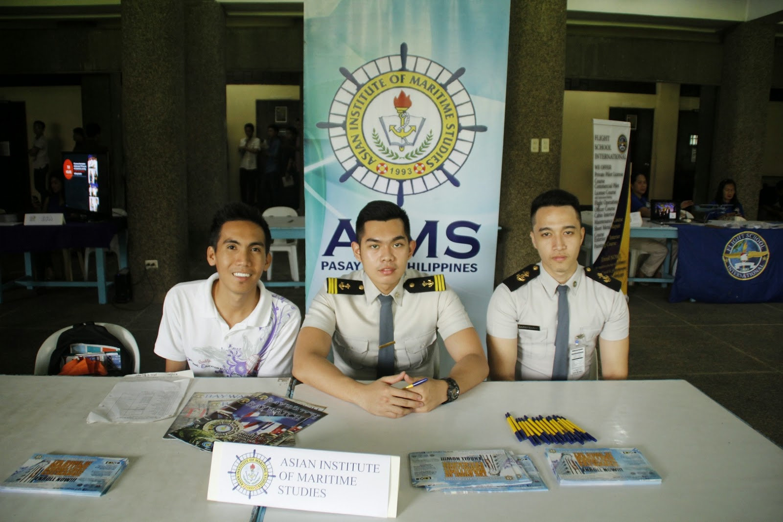 asian institute of maritime studies Asian institute of maritime studies is a philippines based private institute which offers maritime education courses the institute of maritime studies in philippines was founded in the year 1993 the institute is headed by chairman mrs jayne offemaria-abuid and president arlene abuid-paderanga.