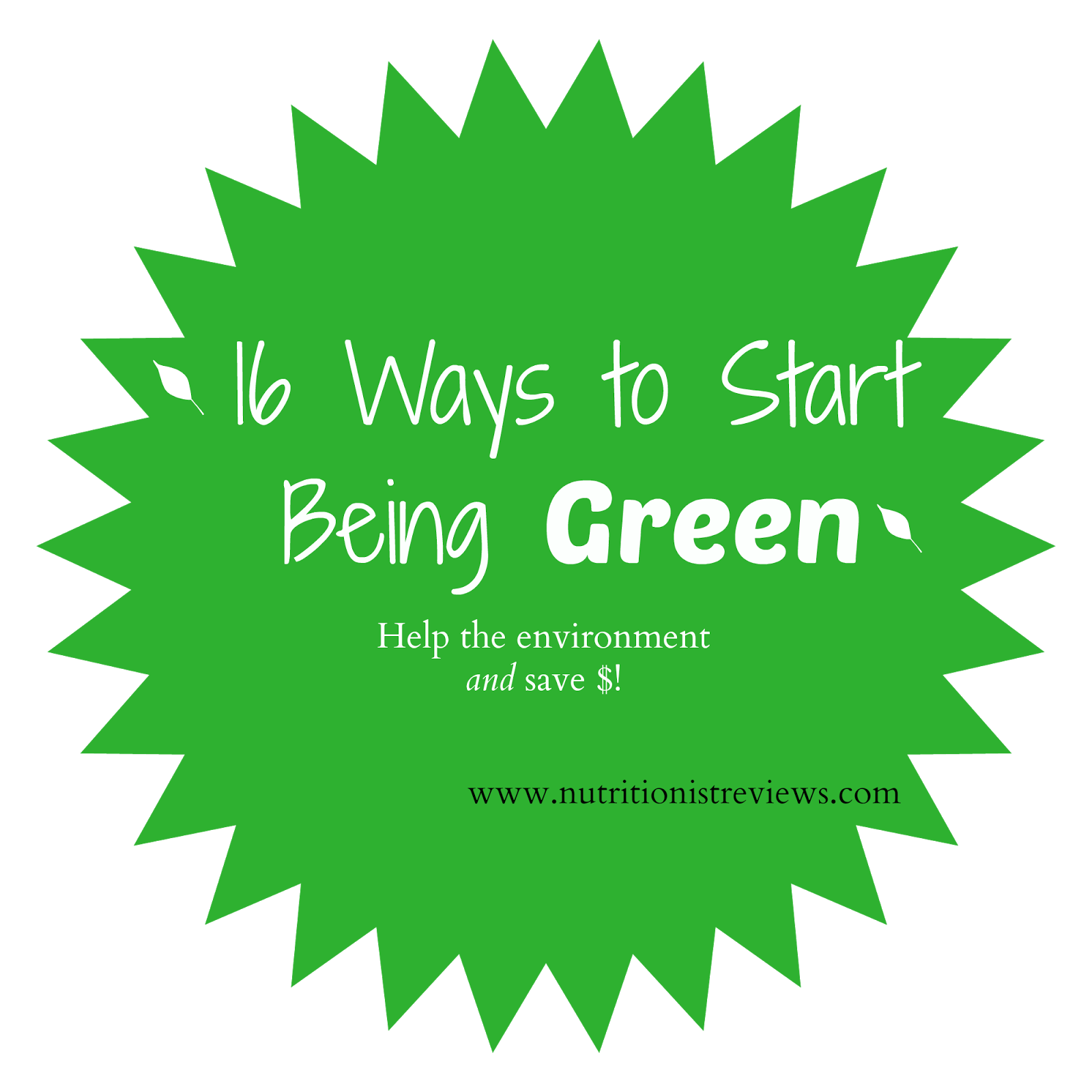 16 Easy Ways to Start Being Green