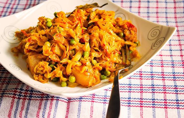 bengali style niramish bandhakopir torkari recipe