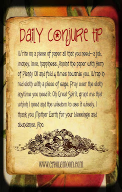 Conjure Tip of the Day