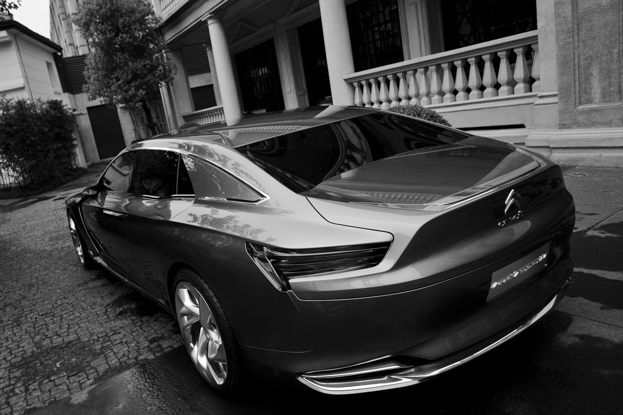 Pre Production Of New Citroen C6 Starts In China