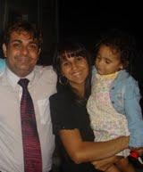 Alexander Silva e Família