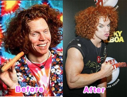 is carrot top gay