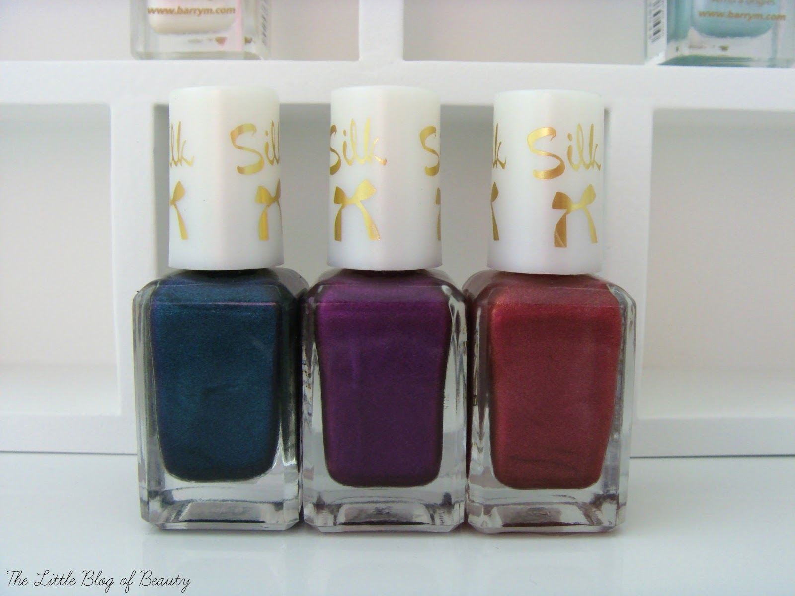 Barry M Silk Forest, Orchid and Poppy