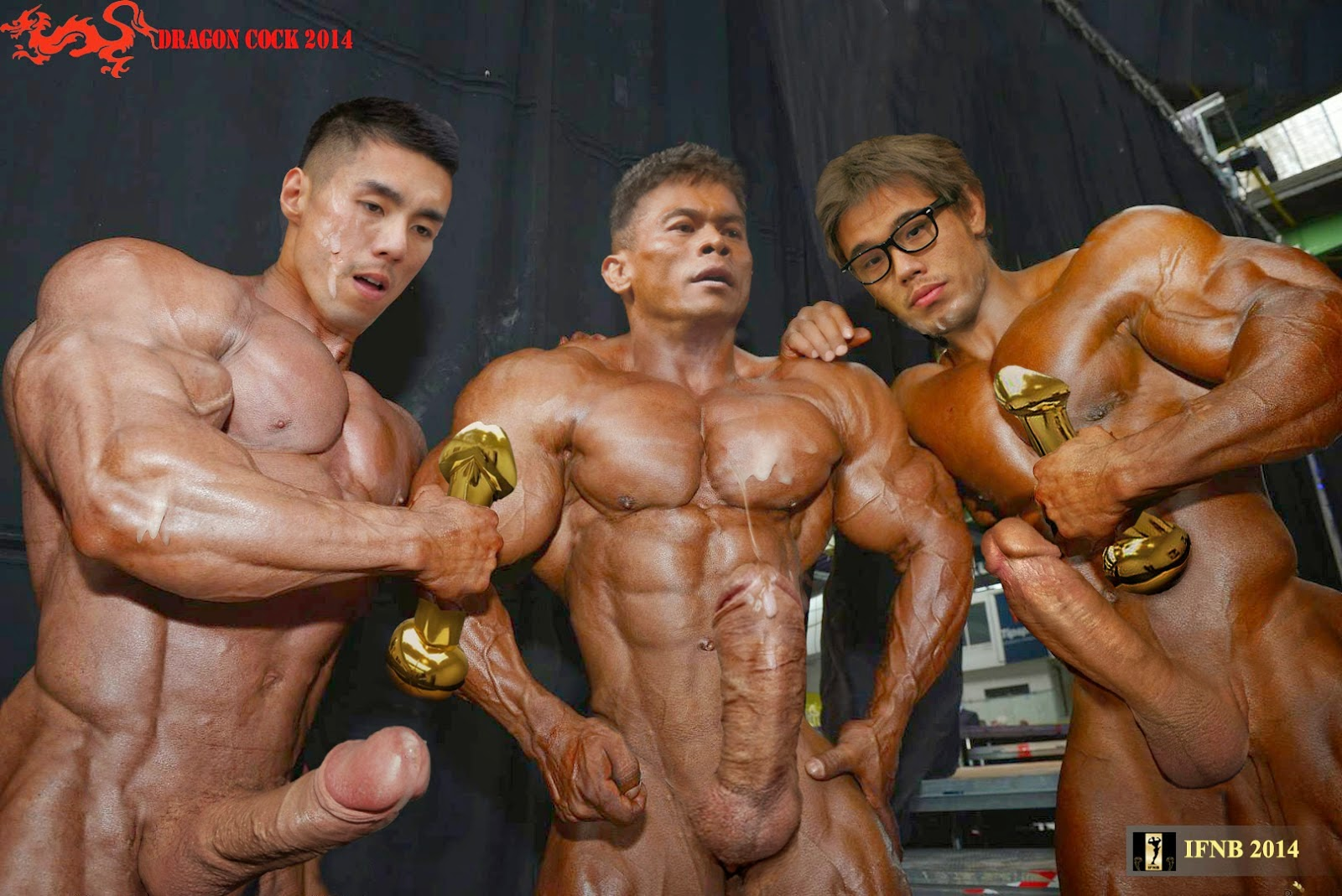 cum on female bodybuilder