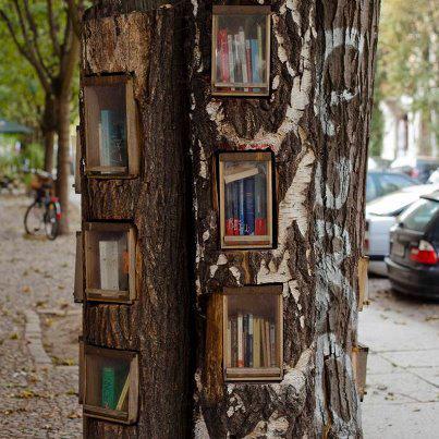 arbre à livre berlin