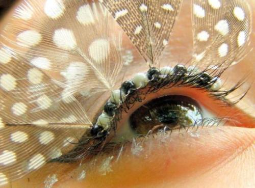 Fairy Feathery Eye Makeup