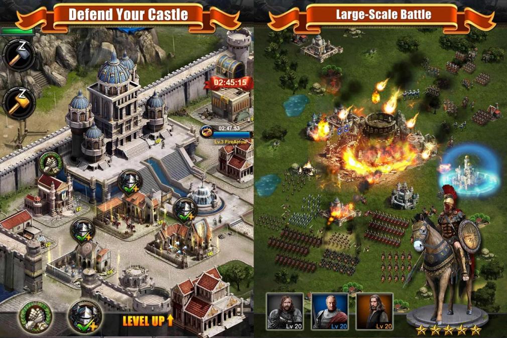 Clash of kings на андроид скачать