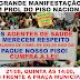 Grande manifestação dos agentes de saúde dia 21/08 às 14:00 em frente a Praça Municipal, em prol do Piso Nacional!