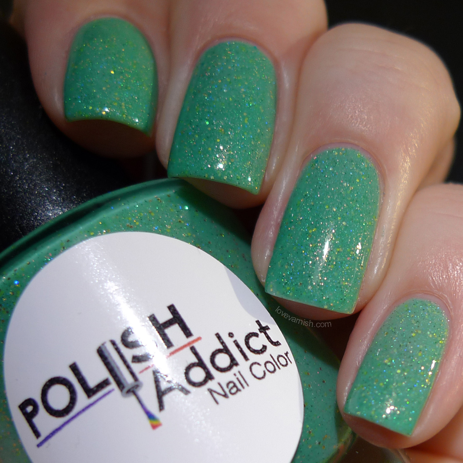 Polish Addict Nail Color Clovers cold