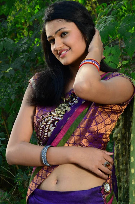 kausalya in saree latest photos