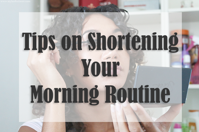 Tips on shortening your morning routine, how to get ready faster in the morning