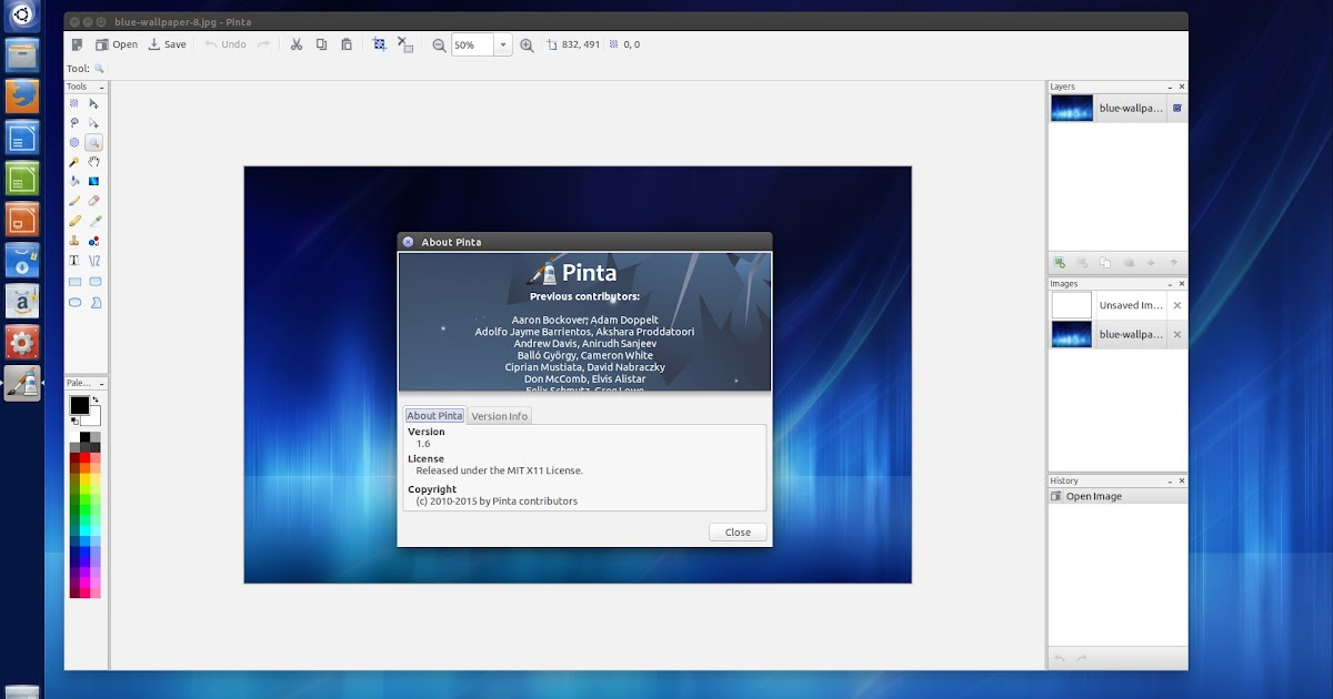 Pinta an advanced app like paint for linux install 1 Paint for linux