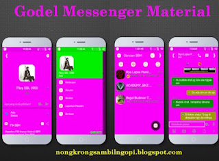 New BBM I-Chat Material v 2.9.0.49 Apk
