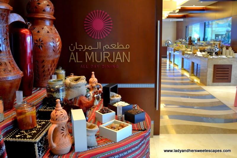 Al Murjan in Oceanic Hotel Khorfakkan