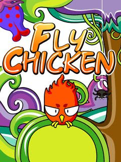 Screenshots of the Fly Chicken for java mobile, phone.