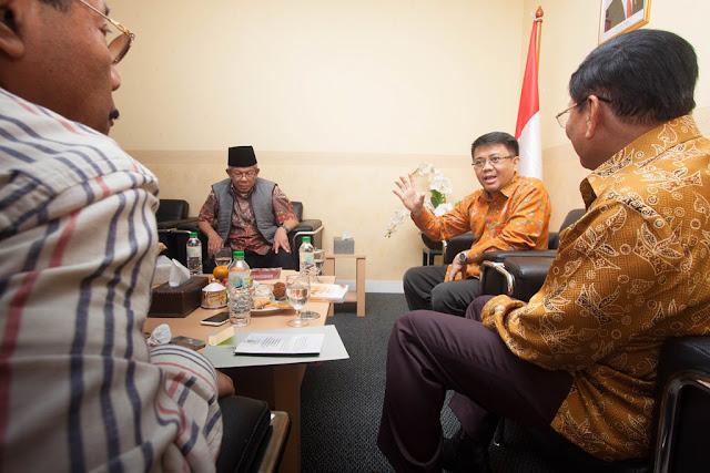 DPD RI Silaturahmi ke Kantor DPP PKS