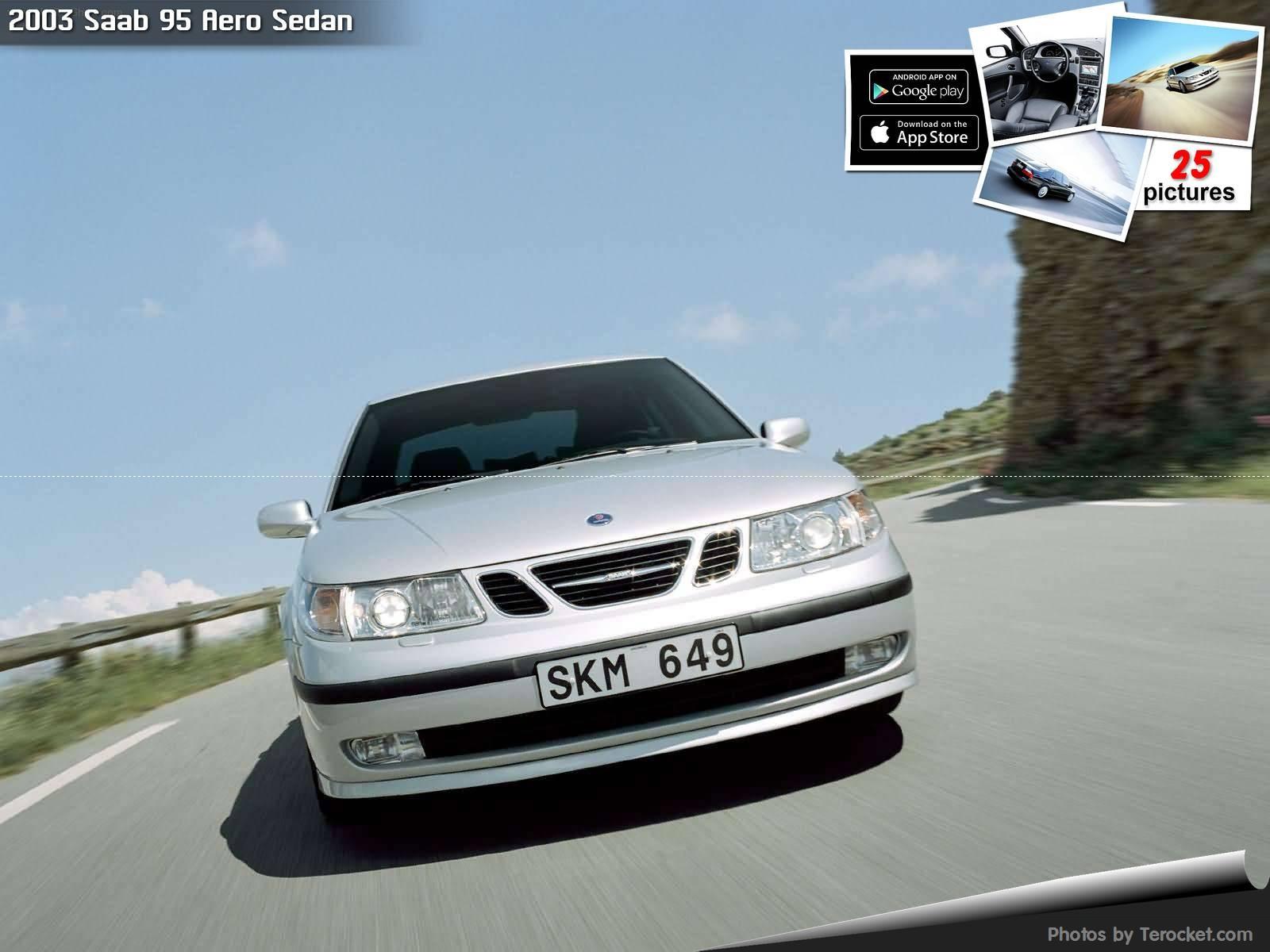 Hình ảnh xe ô tô Saab 95 Aero Sedan 2003 & nội ngoại thất