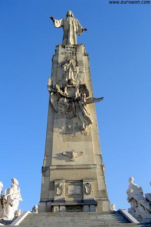 Monumento al Sagrado Corazón de Jesús en Getafe