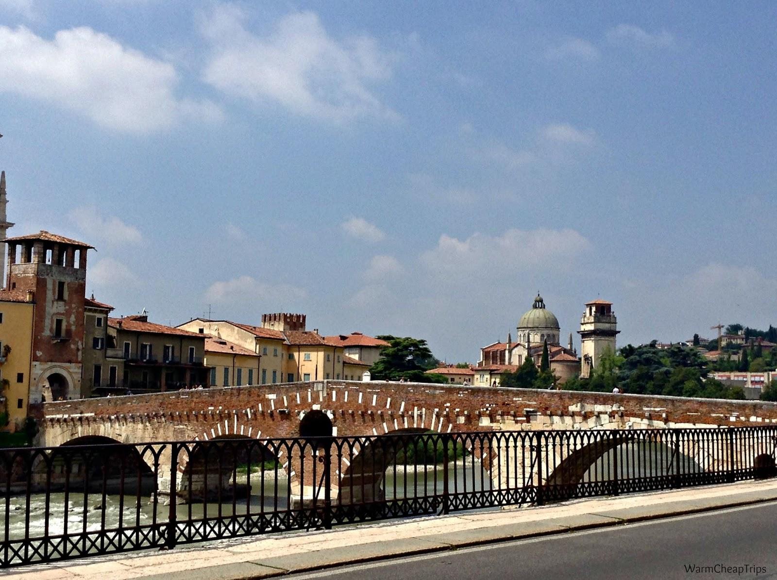 Daytrip citt d 39 italia verona in 1 giorno warmcheaptrips for Ponte intorno alla casa