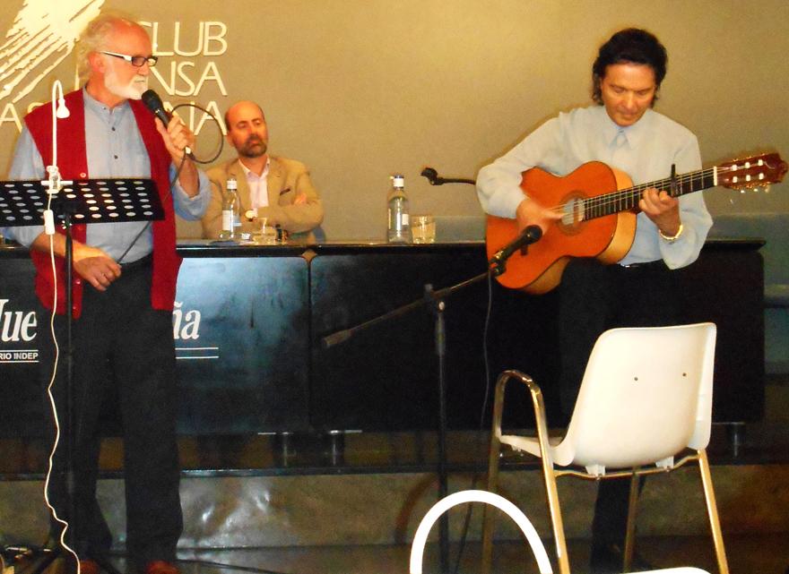 Celso Peyroux y Juan Salazar