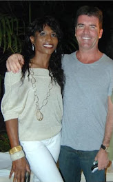 Simon with Sinitta *believed to be  the love of his life..