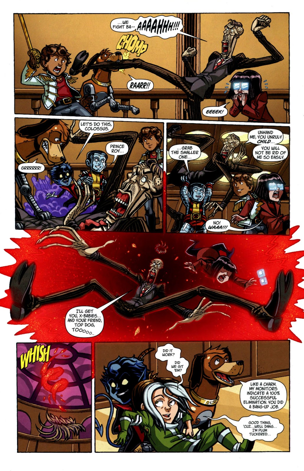Read online X-Babies comic -  Issue #4 - 15