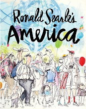Ronald Searle's America book -BUY HERE!