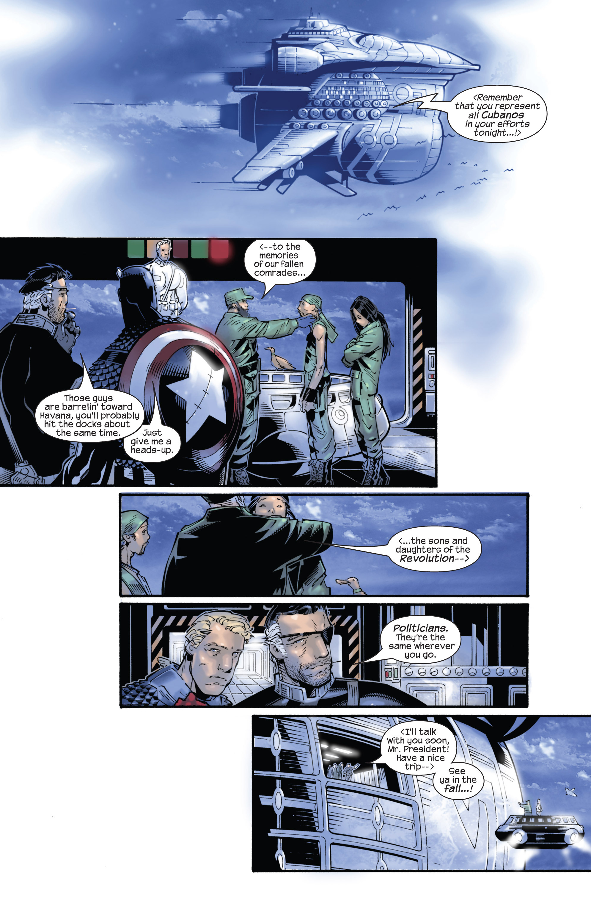 Captain America (2002) Issue #24 #25 - English 11