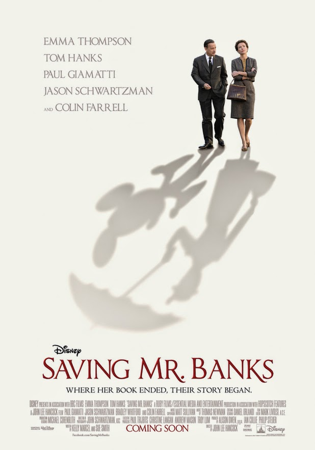 Acting brings life to amazing 'Saving Mr. Banks'
