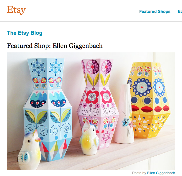 ETSY FEATURE