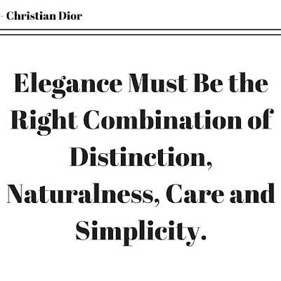 Christian Dior Quote.