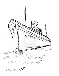 imagem navio desenho