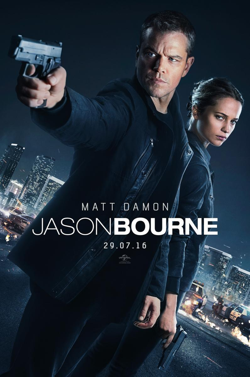 Jason Bourne (2016) HD 1080p Latino / Ingles
