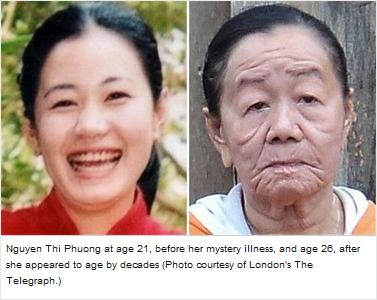 wanita vietnam nampak tua 100 tahun