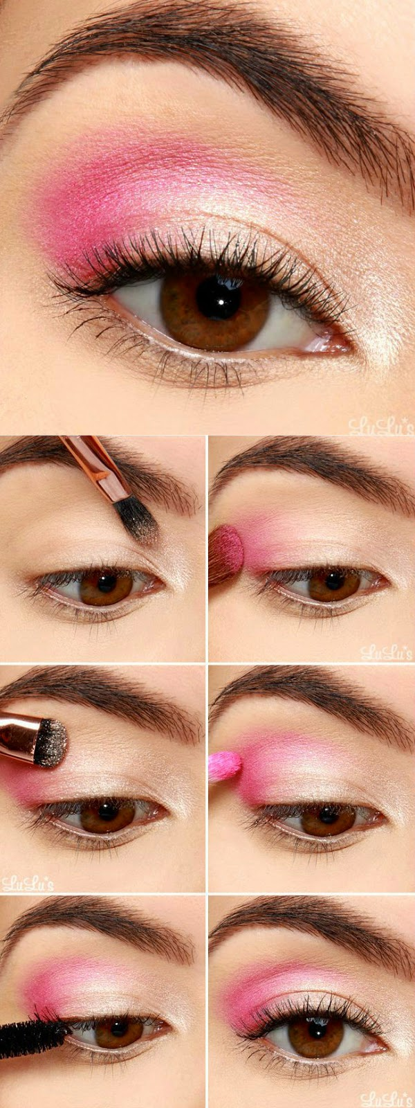 How-To: Pretty Pink Eyeshadow Tutorial