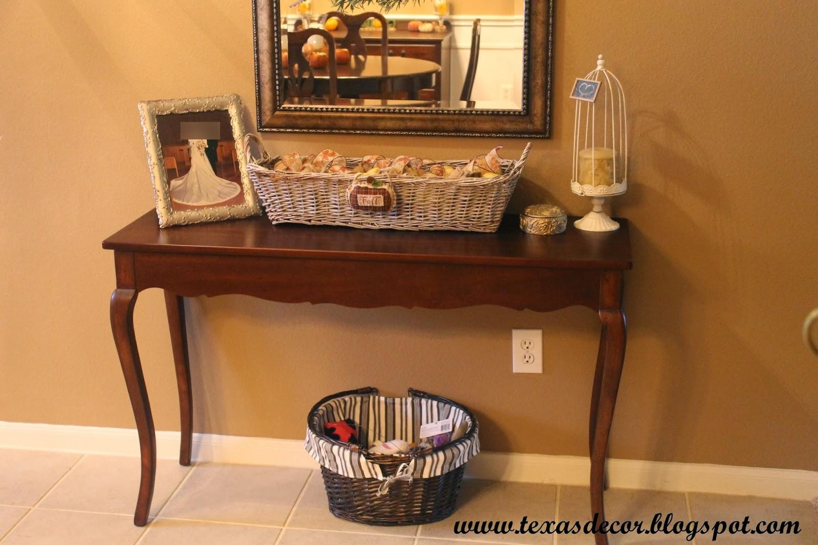 Texas Decor A Basket Redo