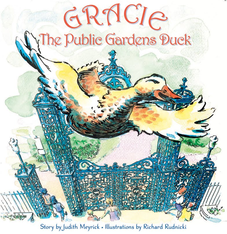 Gracie the Public Gardens Duck