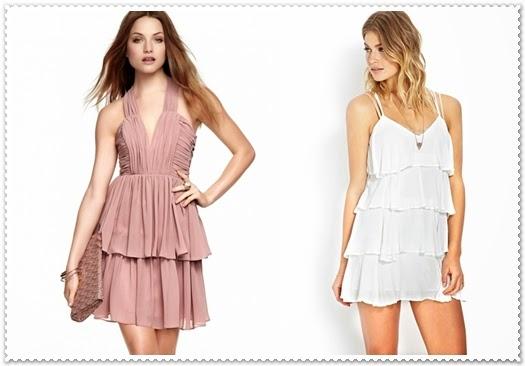 Stilvollen 14 kurzes Kleid