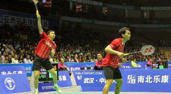 Mohammad Ahsan/Hendra Setiawan Maju ke Final Badminton Asia Championships 2015