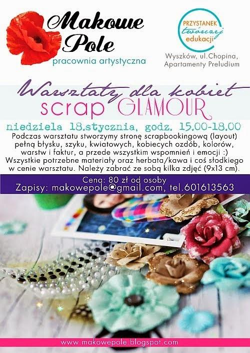 Warsztaty SCRAP GLAMOUR