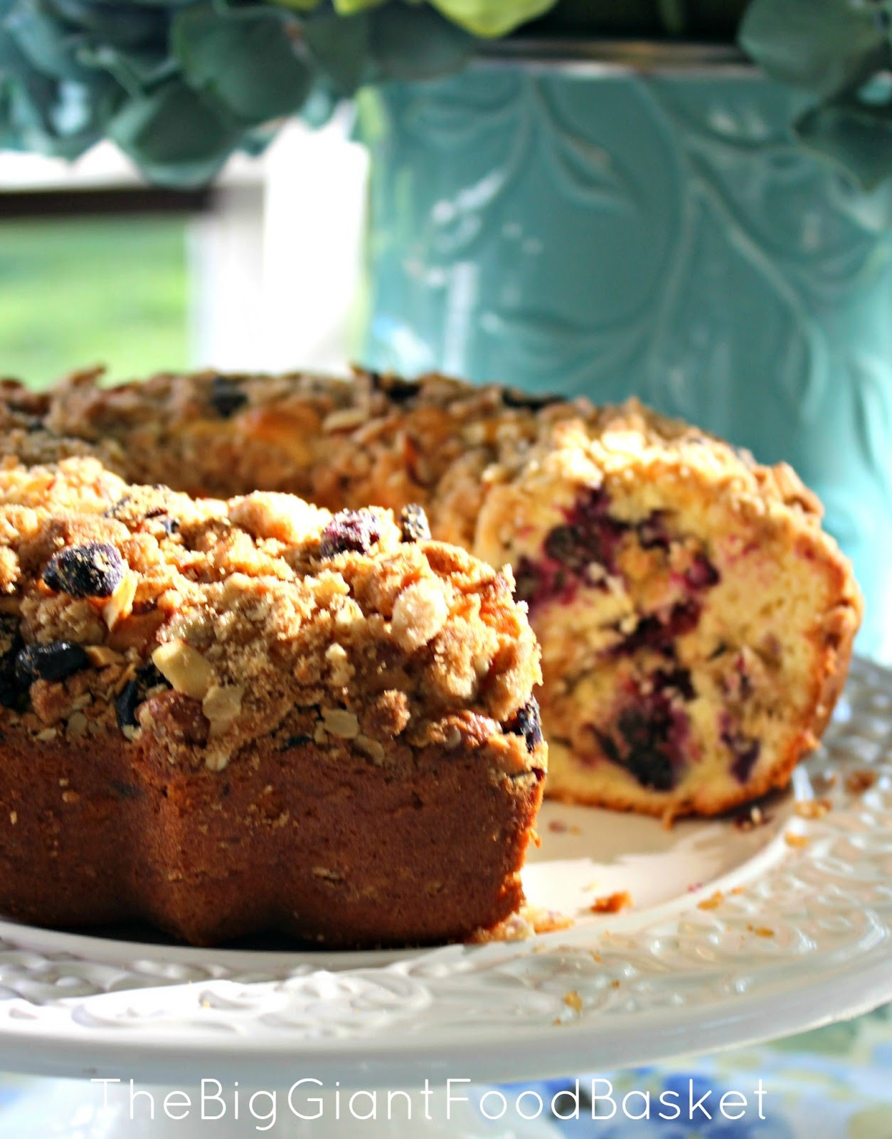 ... Food Basket: Perfect for Mother's Day ~ Blueberry Crumb Coffee Cake