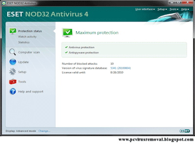 ESET NOD32 ANTIVIRUS 4.2.58.3 download